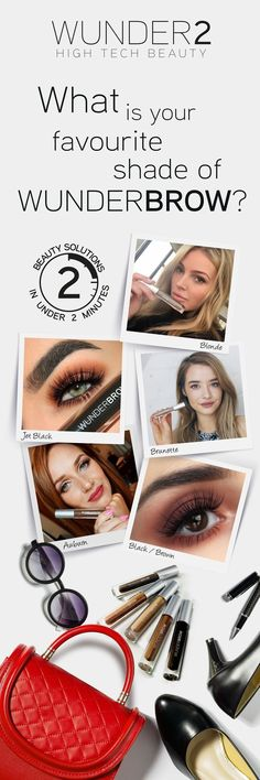 What is your favorite shade of WunderBrow? Blonde, Brunette, Auburn, Black/Brown or Jet Black? Let everyone know that you have tried WunderBrow by ticking the 'Tried it!' button! If you have not tried WunderBrow yet, why not try it today for only $22 + FREE shipping & a 30 day risk-free money back guarantee. Simply click on the 'visit' button above. The order form takes less than 2 minutes to complete. Once done you will receive an order confirmation email. Discover your favorite shade…