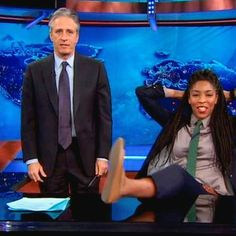 Buzzing: Jessica Williams reflects on Jon Stewart's legacy as he prepares to leave The Daily Show behind
