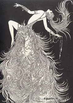 """""""Dancing is a vertical expression of a horizontal desire"""" ― Robert Frost.  Illustration by Charles Gesmar"""