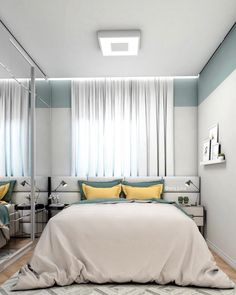 22 The Biggest Myth About Simple Bedroom Ideas for Small Rooms Apartments Layout Exposed « inspiredesign Home Room Design, Small Apartment Room, Primark Home, Luxurious Bedrooms, House Rooms, Small Room Bedroom, Apartment Decor, Simple Bedroom, Apartment Layout