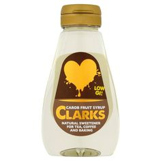 Carob fruit syrup is a naturally sweet low GI ingredient that has less sugar than refined white sugar. Available in 250 g at Ocado Sweet And Low, Health Benefits, Health Foods, Healthy Alternatives, Syrup, Clarks, Tea Time, Baking, Fruit