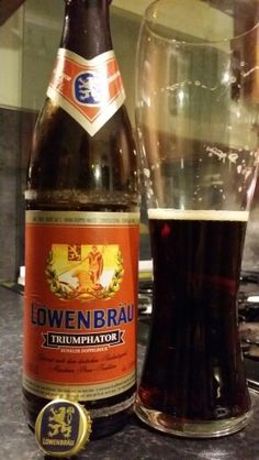 Lowenbrau Triumphator Dunkler Doppelbock #craftbeer