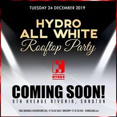 Coming soon All White Party, Coming Soon, Photos