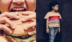 #KindermodeLabel #CAVALIER – Mit dem Cheeseburger Tee wird man nicht nur bei Mc Donalds Eindruck machen.