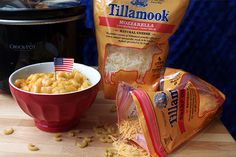 American Mac & Cheese Recipe: http://www.tillamook.com/community/loaflifeblog/crockpot-olympics-mac-cheese/?utm_source=pinterest&utm_medium=social&utm_campaign=cheese #CrockPotOlympics