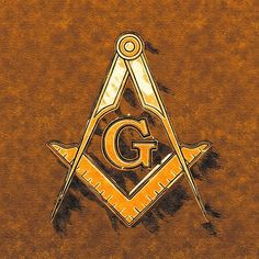 Painting - Freemason, Mason, Masonic Symbolism by Esoterica Art Agency , Freemason Tattoo, Masonic Tattoos, Freemason Symbol, Masonic Order, Masonic Art, Masonic Symbols, Parts Of A Circle, Evil Skull Tattoo, Freemasonry