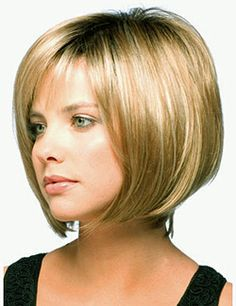 Modern bob perfectly layered with texture and volume. #Jolie #reneofparis