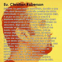 Eu, Christian Roberson