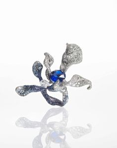 bague Black Label Masterpiece N°17 Orchid Ring - Cindy Chao