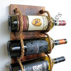 Wine Rack Wall Wine Rack Wood Wine Rack Wall by AdliteCreations