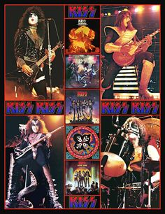 This sale is for a KISS ALIVE II Hotline photos stand-up display. Featuring the familiar shots used on KISS items throughout the 70s in particular the KISS lunchbox and also sold as mail order 8 x 10 sets. If youre into the old school look KISS collectibles and poster space is at a premium these displays are just the thing. No need for frames or bangin nails in the wall, just set it and forget it. Simple to set up and they make your collection look great. This item measures in at 7 3/4 ...