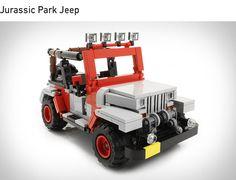 LEGO Jurassic Park Jeep   Amazing!