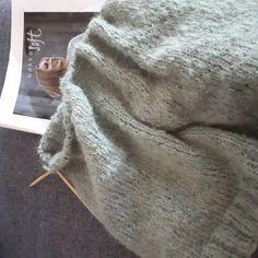 BØKKO Soft hvit - STRIKKEPAKKER Blanket, Threading, Blankets, Cover, Comforters