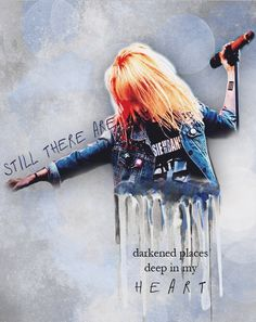 Where once was blazing light now, there's a tiny spark Paramore lyrics | Part II