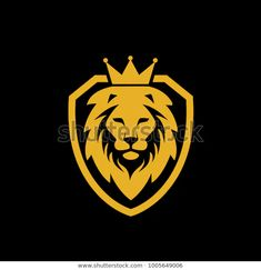 Lion Forearm Tattoos, Lion Head Tattoos, Lion Tattoo, Shield Drawing, Africa Silhouette, Lion Icon, Zoo Art, Royal Logo, Lion Images