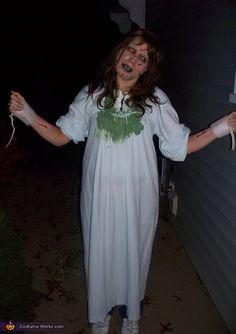 The Exorcist!! Reagan Costume - 2012 Halloween Costume Contest