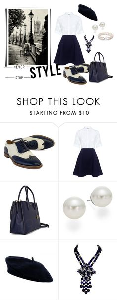 """My Oxford Style"" by adelinejaned on Polyvore featuring Ralph Lauren, Paul & Joe Sister and AK Anne Klein"