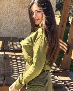 Related posts:Beauty in uniform nice! Mädchen In Uniform, Israeli Female Soldiers, Israeli Girls, Idf Women, Military Women, Military Jacket, Girls Uniforms, Gianni Versace, Special Forces