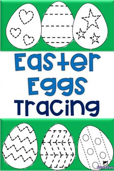 Tracing is one of the best activities to build strong fine motor skills. Hence for this coming Easter, let's trace and have fun with Easter Egg Tracing Activity Easter Activities For Preschool, April Preschool, Spring Activities, Easter Crafts For Kids, Holiday Activities, Writing Activities, Easter Crafts For Preschoolers, Preschool Letters, Easter Ideas