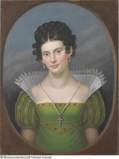 1817 Bardua, Caroline Porträt Dorothee van Herzseele