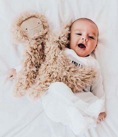 This cutie pie with our Big Foot is everything! Slumberkins are ultra soft, plush toys designed to help promote positive life skills in children. The perfect gift for baby! Cute Baby Pictures, Baby Photos, Cute Kids, Cute Babies, Lil Baby, Toddler Outfits, Baby Outfits, Girls Dream, Future Baby
