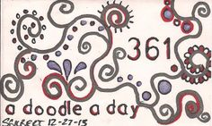 A Doodle A Day #361, ink, 12/27/13