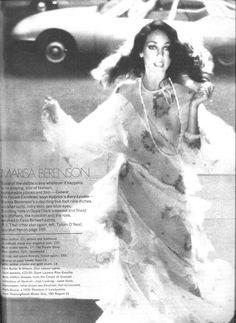 Marisa Berenson 1973