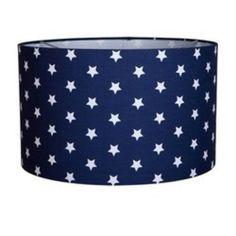 hanglamp blauw met witte ster kopen