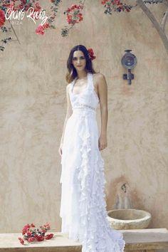 Yahoo Vida y Estilo en Español Ibiza, Charo Ruiz, Boho Chic, One Shoulder Wedding Dress, Sexy, Wedding Dresses, American, Brides, Style