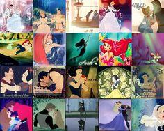 Disney Princess magic moments. Disney Pixar, Walt Disney, Disney Collage, Film Music Books, Disney Princesses, Disney Love, Dreamworks, Collages, Movie Tv