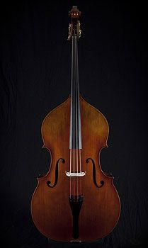 One day i will have one of these....   -Thompson Plywood Upright Bass, oil varnish.