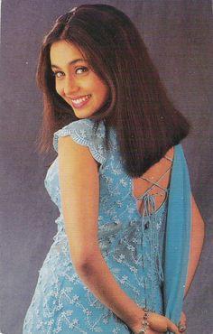 Indian Bollywood Actress, Beautiful Bollywood Actress, Beautiful Indian Actress, Indian Actresses, Indian Aesthetic, Rani Mukerji, Bollywood Outfits, Vintage Bollywood, Indian Outfits
