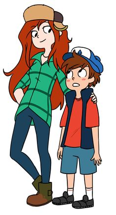 Wendy and Dipper