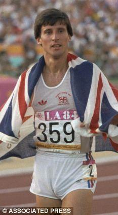 Saw running at Crystal Palace. Running Man, Running Shorts, Olympic Icons, Sebastian Coe, 1984 Olympics, Famous Sports, British Sports, Sports Personality, Team Gb