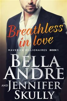 ARC Review: Breathless in Love by Bella Andre and Jennifer ~Reviewed at Under The Covers Book Blog #BookReviews #Utcstyle #kindle #bookwormSkully