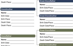 Choose a family tree chart - options of super cute or classic or classy - free printables