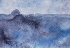 'Lindisfarne' Len Tabner Seascape Paintings, Landscape Paintings, Landscapes, New Fine Arts, Art Boards, Beautiful Images, Painting & Drawing, Amazing Art, Abstract Art