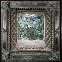 Holiday Season window displays 2012 by Douglas Little, Van Cleef & Arpels New York Boutique.