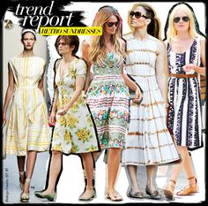 Trend Report: Retro Sundresses - Celebrity Style and Fashion from WhoWhatWear