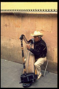 Street musician, Mexico