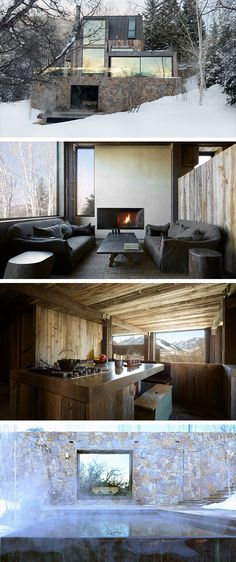 La Muna Residence by Oppenheim Architects in Aspen, Colorado