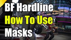 Battlefield Hardline How To Put On Masks Wolf Mask And Dinosaur Mask