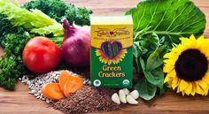 cracker lydia, lydia organ, green vegan, health green, raw vegan, green cracker, free raw
