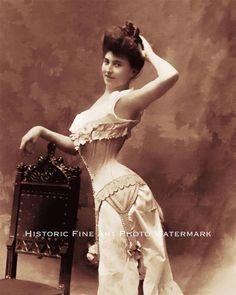 OLD WEST SALOON DANCE HALL GIRL VINTAGE PHOTO 1880 8x10 #21920