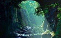 In Chiba / 都心から1時間の秘境! 「濃溝の滝」が神秘的なまでに美しい –