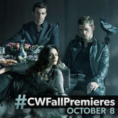 Season 3 of #TheOriginals premieres on Thursday, October 8 at 9/8c, right after #TVD! #CWFallPremieres