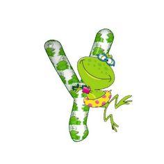 aftertherain Alphabet Frog
