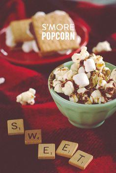 S'mores Popcorn #recipe