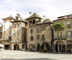 Domodossola, Italy, lovely little town, near border Switzerland