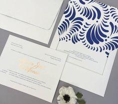 Amelia Paper Design | Bodas Original Wedding Invitations, Paper Design, Amelia, Playing Cards, Invitations, Wedding Invitations, Weddings, Trends, Playing Card Games